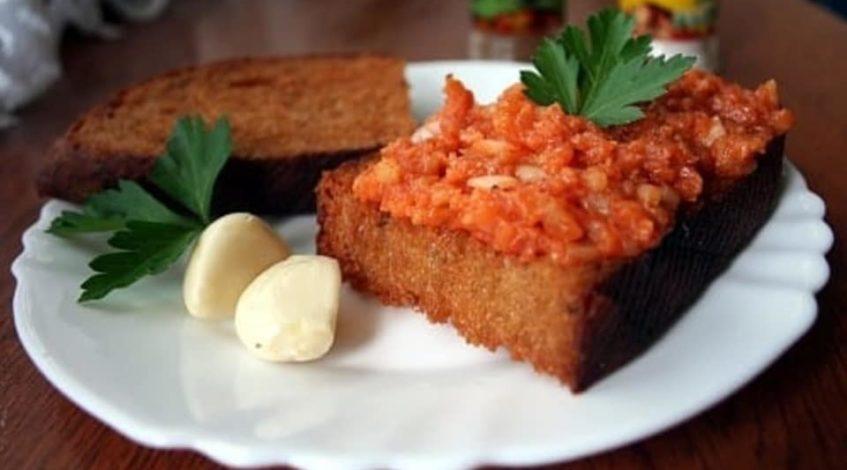 vegetariánský tatarák